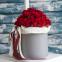 Червоні троянди 39шт. в коробці «Більше, ніж любов»