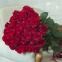 Букет з 39-ти червоних троянд «Ред Ігл»