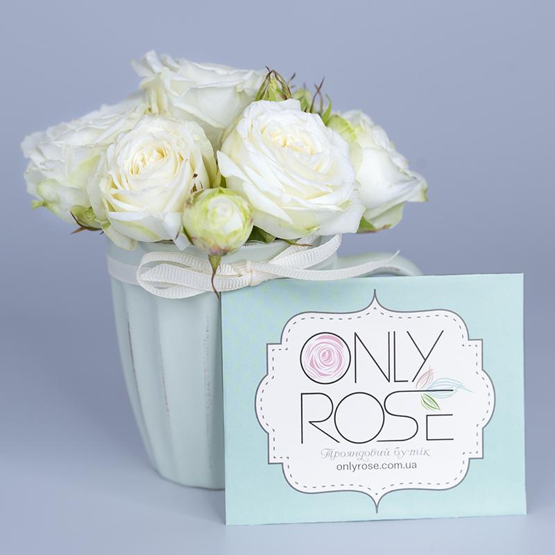 Подарункова композиція з троянд